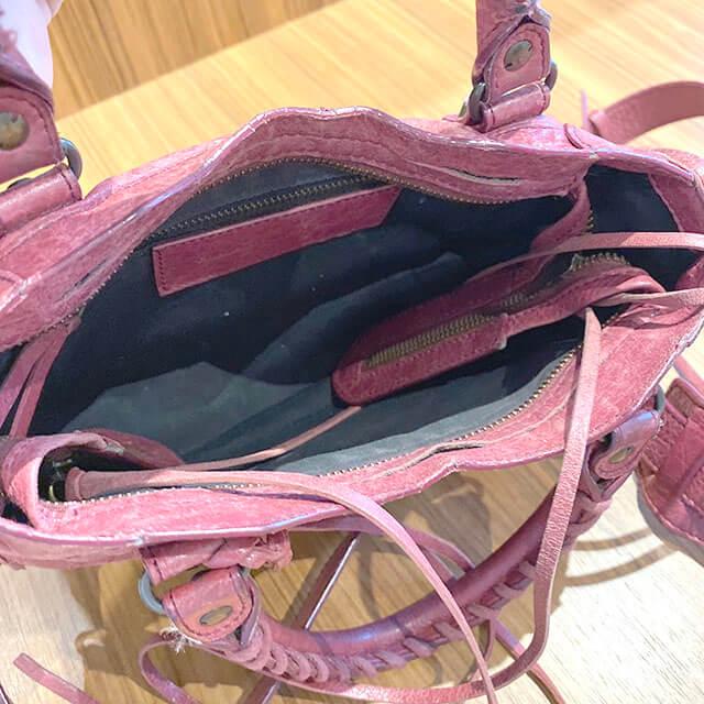 森ノ宮のお客様からバレンシアガの2wayバッグ【クラシック ミニシティ】を買取_03