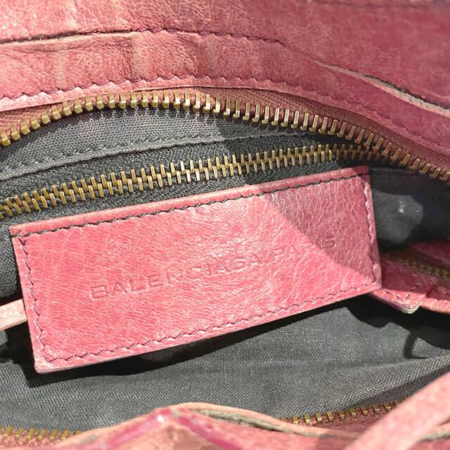 森ノ宮のお客様からバレンシアガの2wayバッグ【クラシック ミニシティ】を買取_04