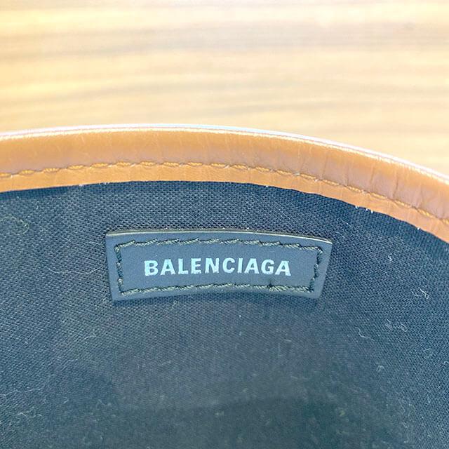 熊本のお客様からバレンシアガのバッグ【ネイビーカバス S】を買取_03