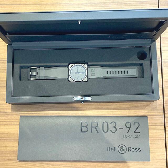 大阪のお客様からBell&Ross(ベル&ロス)の腕時計【PHANTOM(ファントム)】を買取_04