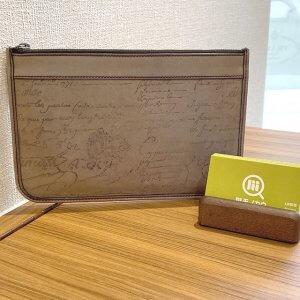 熊本のお客様からベルルッティのカリグラフィのクラッチバッグ【TESORO】を買取