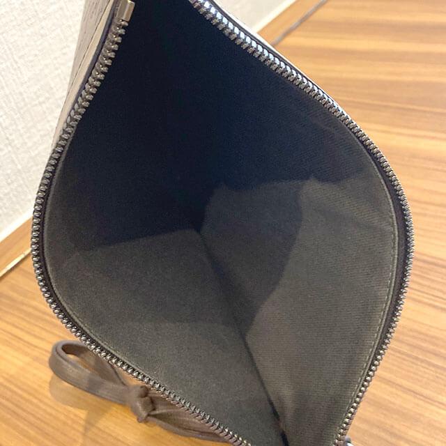 熊本のお客様からベルルッティのカリグラフィのクラッチバッグ【TESORO】を買取_03