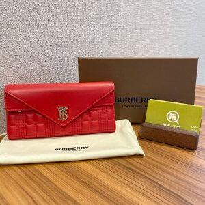大井町のお客様からバーバリーの新作【TBロゴ】の長財布を買取