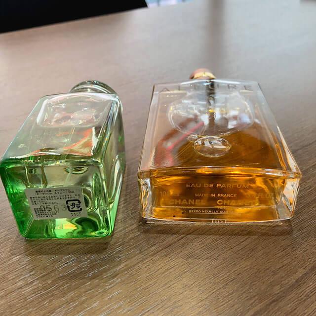 モノカウ心斎橋店にてシャネルとエルメスの使いかけの香水を買取_04
