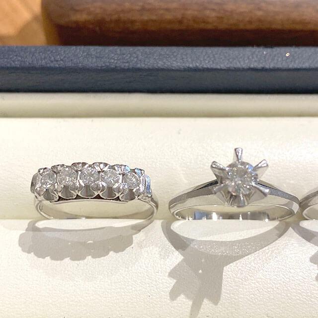 モノカウ玉造店にて今福鶴見のお客様からダイヤ入りの指輪を買取_03