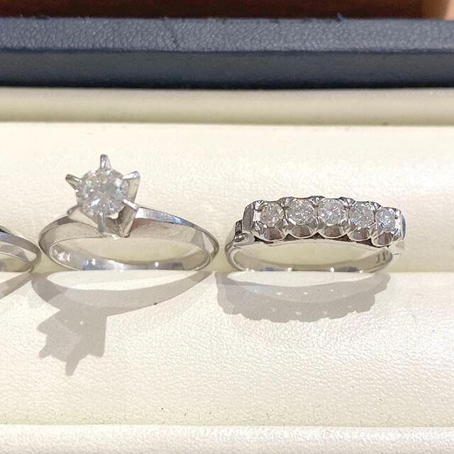 モノカウ玉造店にて今福鶴見のお客様からダイヤ入りの指輪を買取_04