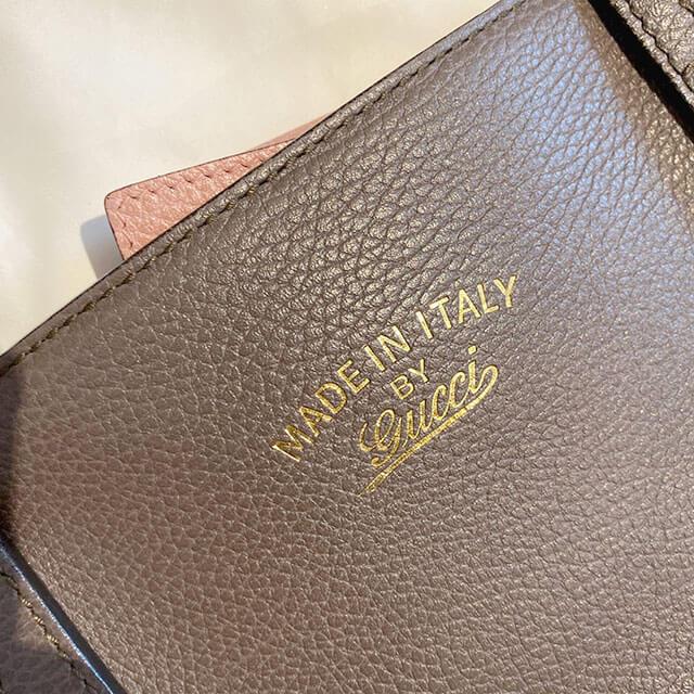 天王寺のお客様からグッチの【スウィング トート】バッグを買取_03