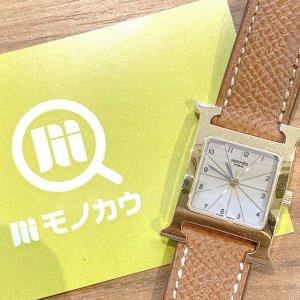 天王寺のお客様からエルメスの腕時計【Hウォッチ】を買取