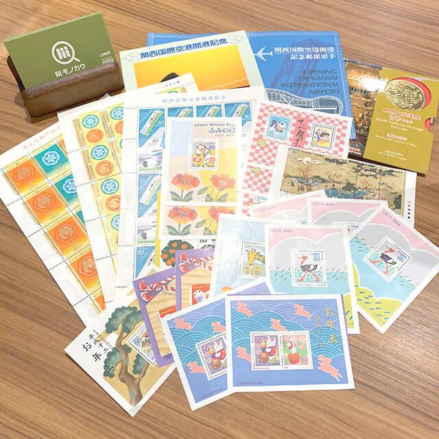 深江橋のお客様から日本郵便の切手を買取_01