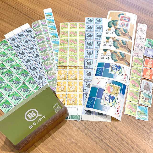 モノカウ玉造店にて城東区のお客様からバラの切手を買取_01