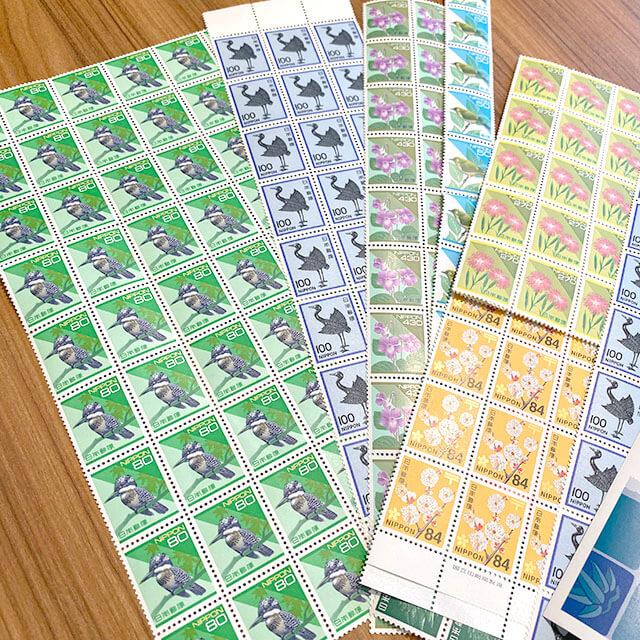 モノカウ玉造店にて城東区のお客様からバラの切手を買取_02