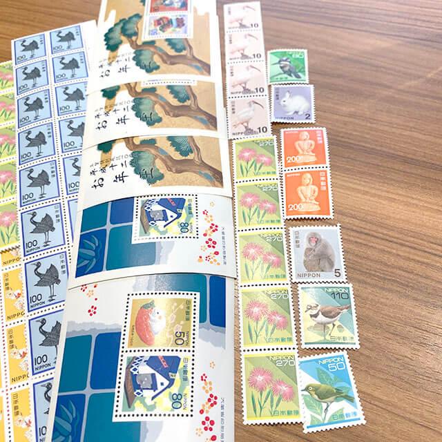 モノカウ玉造店にて城東区のお客様からバラの切手を買取_04