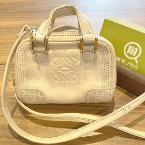 天王寺のお客様からロエベのバッグ【アマソナ マイクロミニ】を買取