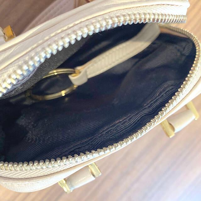 天王寺のお客様からロエベのバッグ【アマソナ マイクロミニ】を買取_04