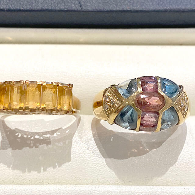 モノカウ玉造店にて今福鶴見のお客様から色石付きの指輪を買取_03