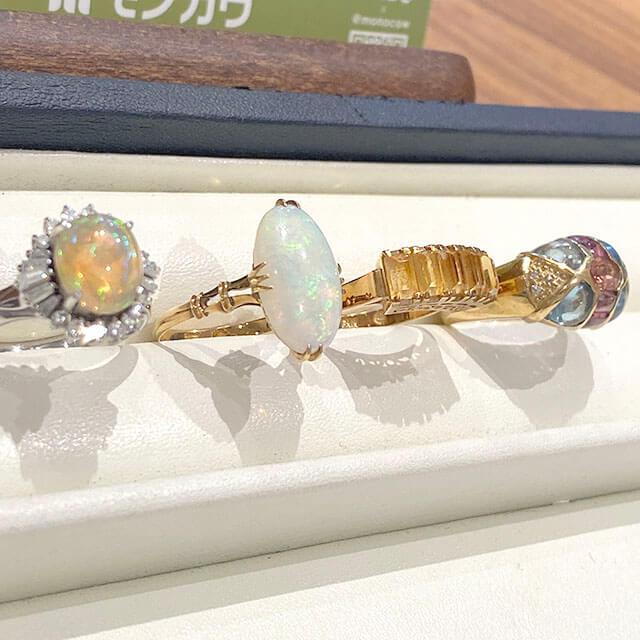 モノカウ玉造店にて今福鶴見のお客様から色石付きの指輪を買取_04