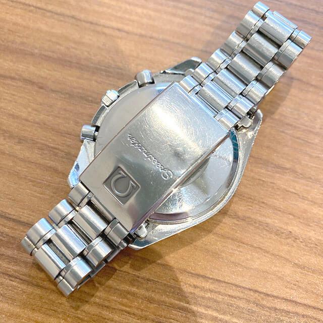 大阪のお客様からオメガの腕時計【スピードマスター クロノ】を買取_02