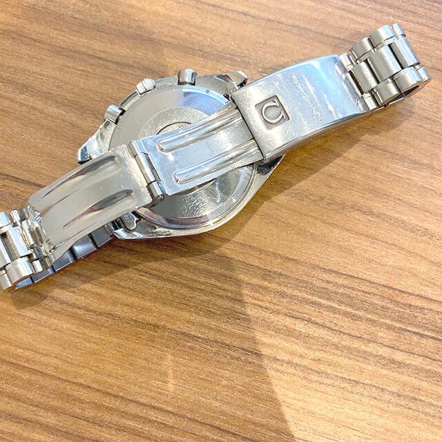 大阪のお客様からオメガの腕時計【スピードマスター クロノ】を買取_03