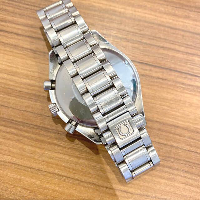 生野のお客様からオメガの腕時計【スピードマスター クロノ】を買取_02