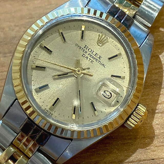 大阪のお客様から30年以上前の古いヴィンテージロレックスの腕時計を買取_02