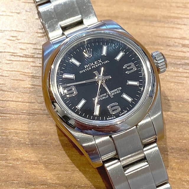 森ノ宮のお客様からロレックスの腕時計【オイスターパーペチュアル】を買取_02