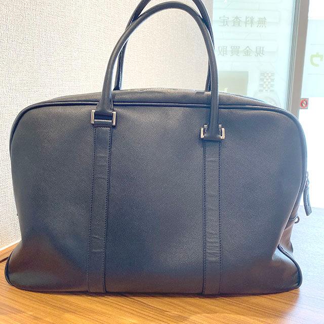 東京のお客様からプラダのボストンバッグを買取_01
