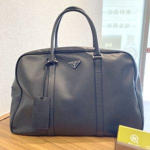 東京のお客様からプラダのボストンバッグを買取