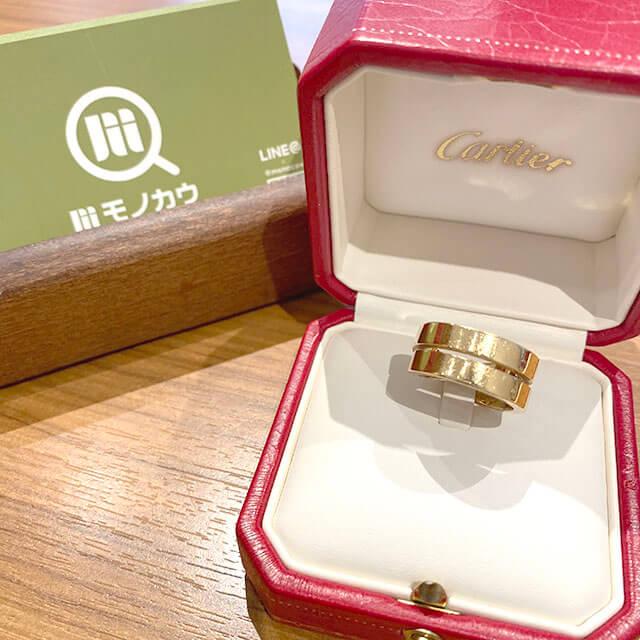 モノカウ緑橋店にてカルティエの指輪【パリ リング】を買取_01