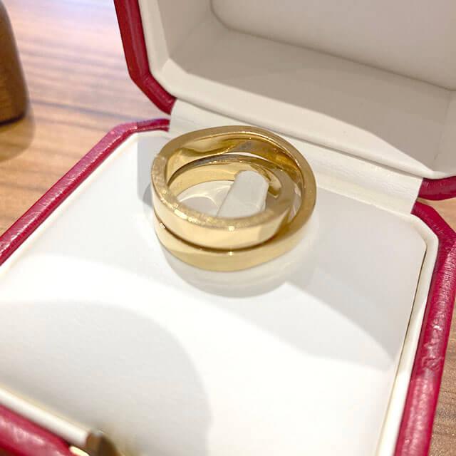 モノカウ緑橋店にてカルティエの指輪【パリ リング】を買取_02