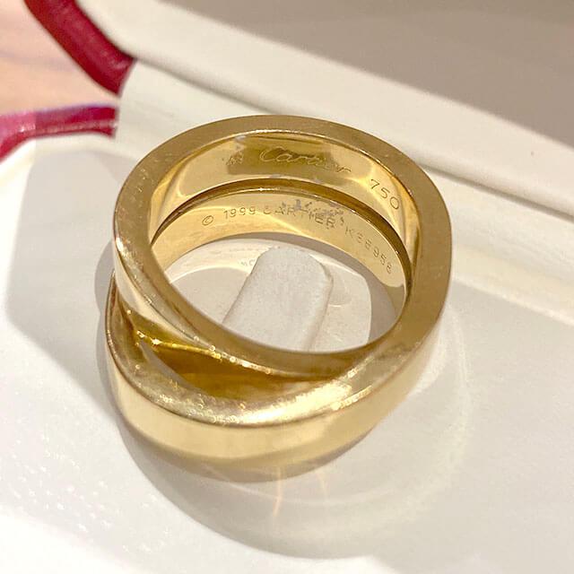 モノカウ緑橋店にてカルティエの指輪【パリ リング】を買取_03