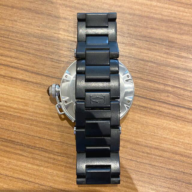 今里のお客様からカルティエの腕時計【パシャ シータイマー】を買取_04