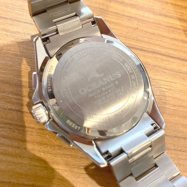 今里のお客様からカシオの腕時計【オシアナス】を買取_02