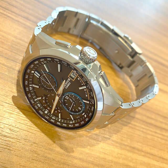 今里のお客様からカシオの腕時計【オシアナス】を買取_03