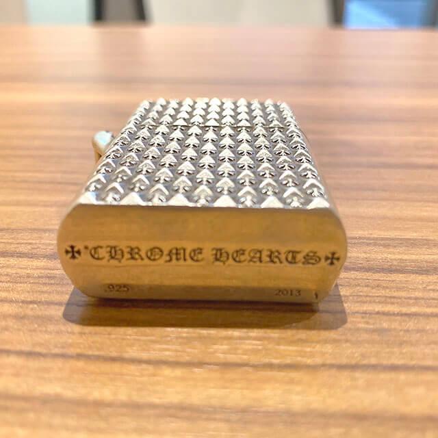 モノカウ心斎橋店にてクロムハーツのジッポライター【ピラミッドプラス】を買取_04