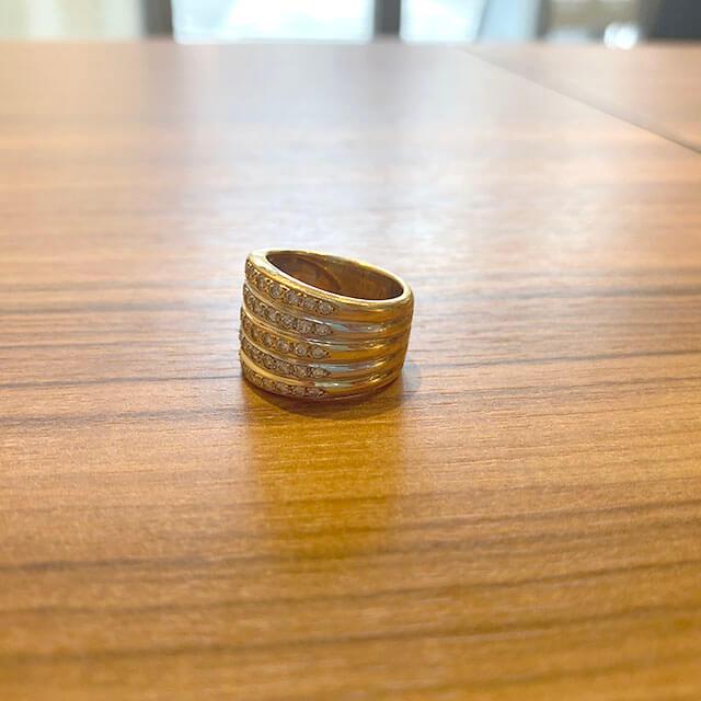 我孫子のお客様から18金の指輪を買取_02