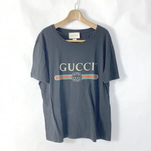 生野のお客様からグッチの【シェリーライン】のTシャツを買取