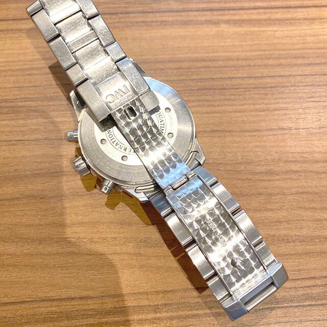 大阪市此花区のお客様からIWCの腕時計【アクアタイマー クロノ】を買取_02