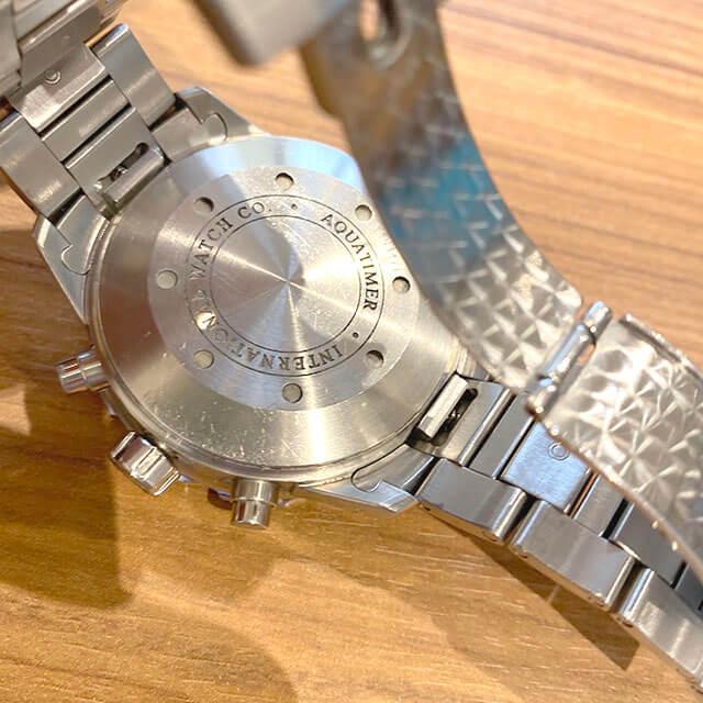 大阪市此花区のお客様からIWCの腕時計【アクアタイマー クロノ】を買取_03
