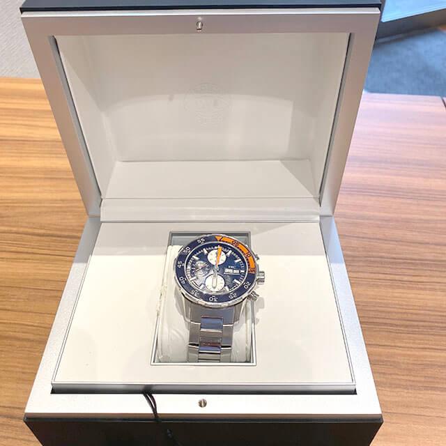 大阪市此花区のお客様からIWCの腕時計【アクアタイマー クロノ】を買取_04