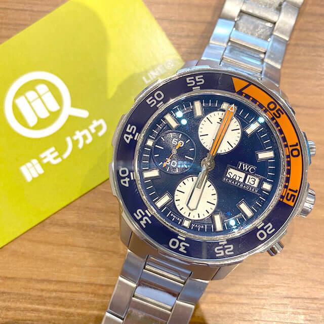 大阪市此花区のお客様からIWCの腕時計【アクアタイマー クロノ】を買取_01