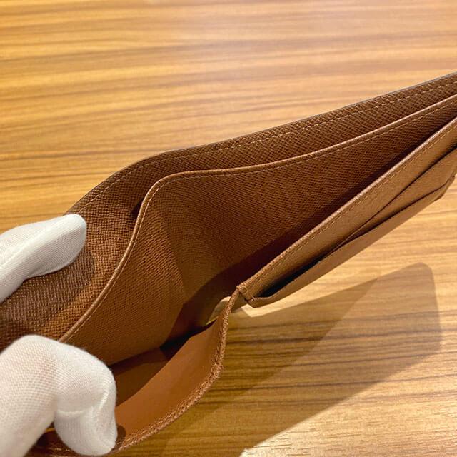 天王寺のお客様からヴィトンの二つ折り財布【ポルトフォイユ・ミュルティプル】を買取_04