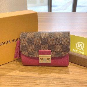モノカウ心斎橋店にてヴィトンの新品の財布【ポルトフォイユ・クロワゼット】を買取