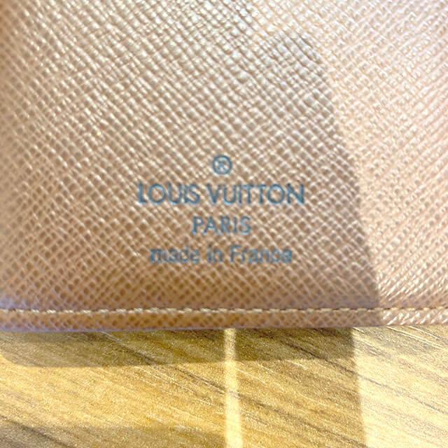 モノカウ心斎橋にて吹田のお客様からヴィトンの財布【ヴィエノワ】を買取_04