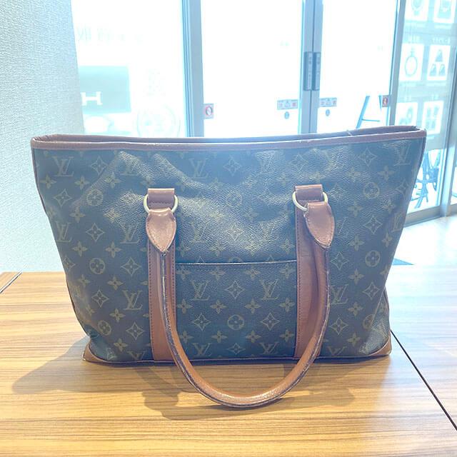 佐久平のお客様からヴィトンのバッグ【ウィークエンドPM】を買取_02