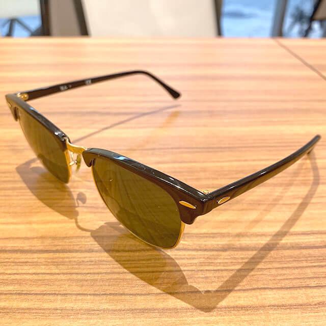 深江橋のお客様からレイバンのサングラス【クラブマスター】を買取_02