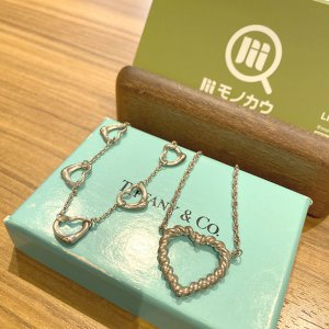 深江橋のお客様からティファニーの【オープンハート】ネックレスを買取