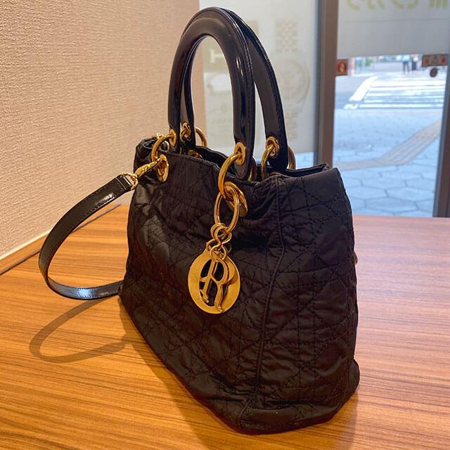 伊勢崎のお客様からディオールのバッグ【レディディオール】を買取_02