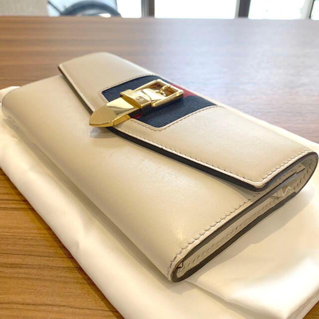 生野のお客様からグッチの長財布【シルヴィ コンチネンタルウォレット】を買取_03