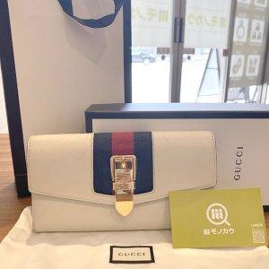 生野のお客様からグッチの長財布【シルヴィ コンチネンタルウォレット】を買取
