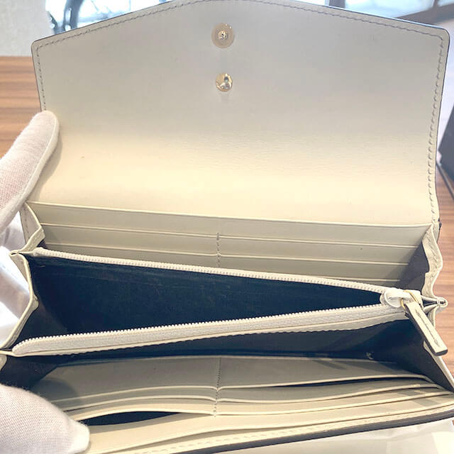 生野のお客様からグッチの長財布【シルヴィ コンチネンタルウォレット】を買取_04